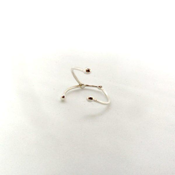 Bague argent or lyon constellation cancer bijoux créateur lyon