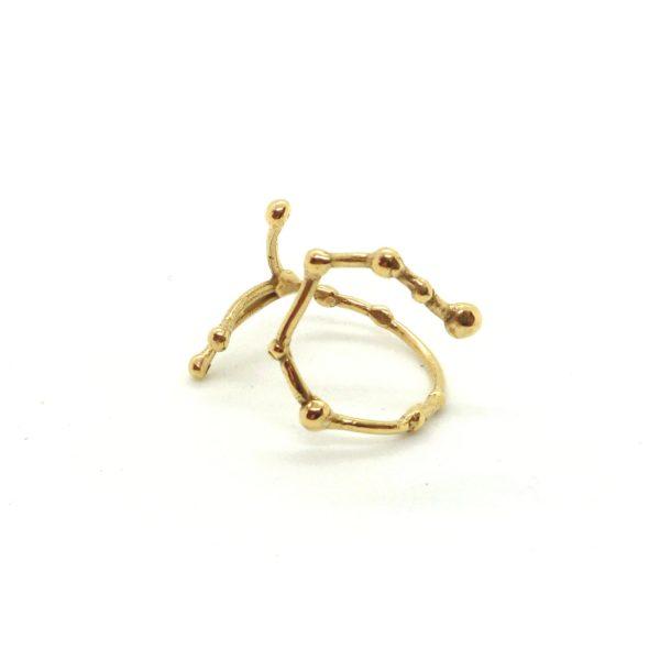Bague argent or lyon constellation balance bijoux créateur lyon