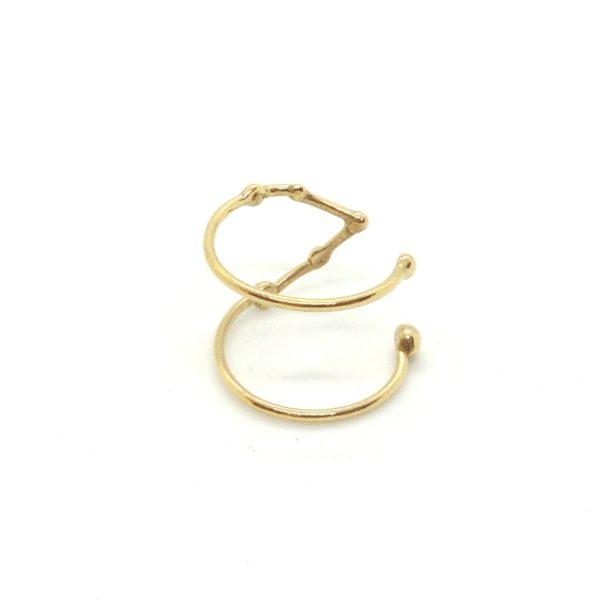 Bague argent or lyon constellation taureau bijoux créateur lyon