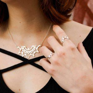 collier mandala bijoux argent lyon bijouterie créateur