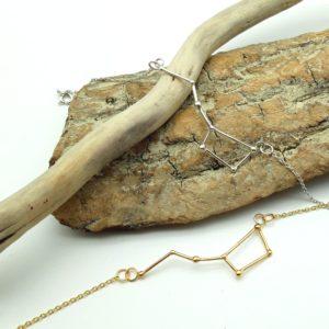 bracelet argent or lyon constellation grande ourse bijoux créateur lyon