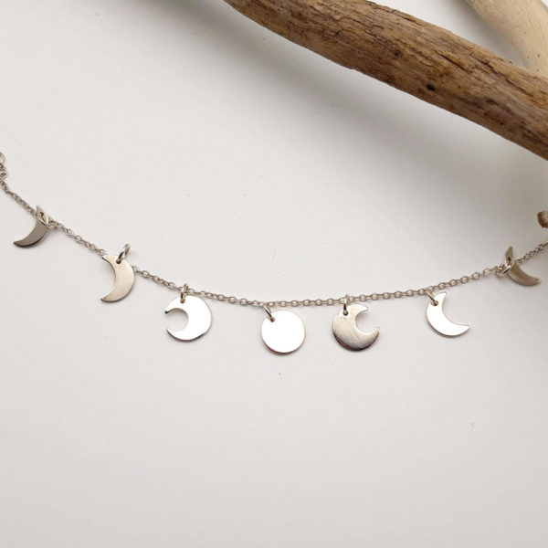 Bracelet bijoux lune bijouterie lyon argent