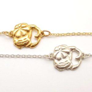 Bracelet or argent bijouterie lyon bijoux créateur plante