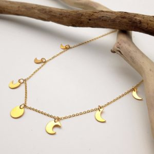 Collier bijoux lune bijouterie lyon OR