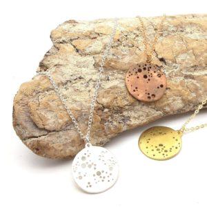 Collier medaillon bijouterie lyon or argent laiton cuivre bijoux créateur