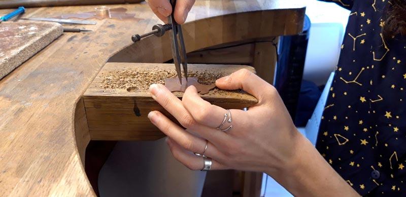 Bijoux créateur lyon bijouterie artisan art bague argent
