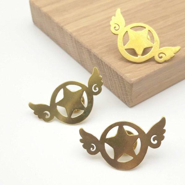 pins sakura sceptre or bijouterie lyon bijoux créateur